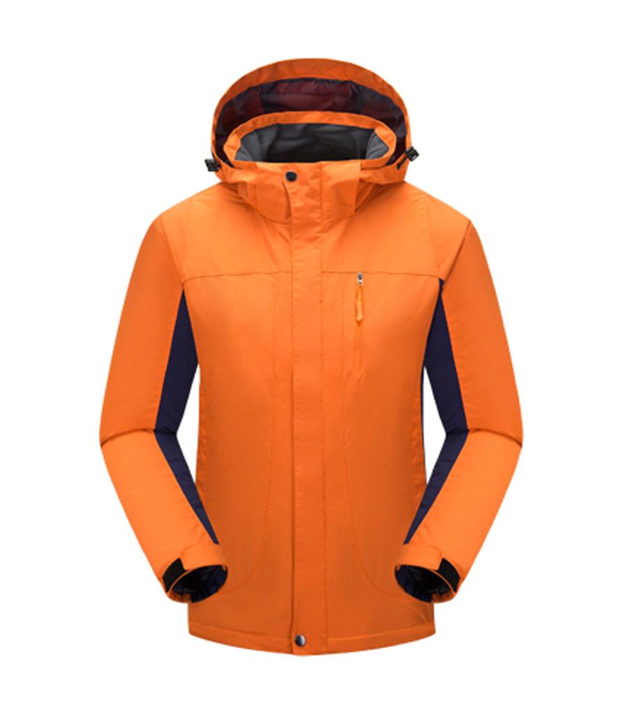 KW201橙色-工作服冲锋衣定制