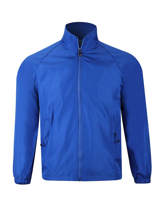 KW602-复合水蜜桃风衣(彩蓝)广告工作服风衣定制